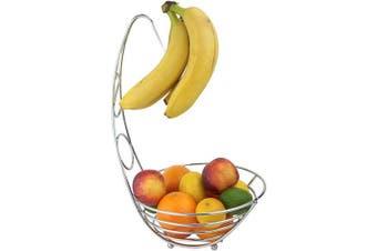 Apollo Chr Banana Tree Fruit Bowl, Multi-Colour, 24x42x24