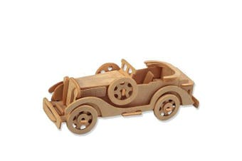 3-D Wooden Puzzle - Car Model Packard Twelve -Affordable Gift for your Little One! Item #DCHI-WPZ-P015