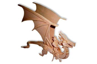 3-D Wooden Puzzle - Flying Dragon -Affordable Gift for your Little One! Item #DCHI-WPZ-M042