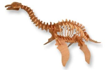 3-D Wooden Puzzle - Large Plesiosaurus -Affordable Gift for your Little One! Item #DCHI-WPZ-BJ-010