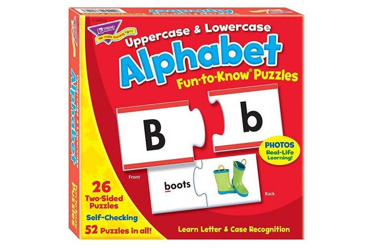 (1) - Fun-to-Know® Puzzles: Uppercase & Lowercase Alphabet