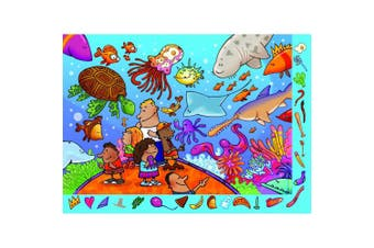 Ravensburger Highlights: Something'S Fishy - 35 Pieces Hidden Pictures Puzzle