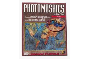 Photomosaic Earth Jigsaw Puzzle 1026pc