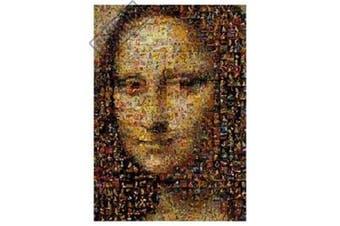 Photomosaic Mona Lisa Jigsaw Puzzle