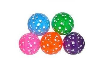 Inflatable Polka-Dot Beach Balls (1 dz) [Toy]
