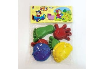 Androni Face, Hand & Foot Sand Moulds - Made in Italy