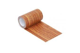 (Red Oak) - 5M Repair Tape Patch Wood Grain Patterned for Furniture Door Craft (Red Oak)