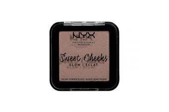 (Glow, So Taupe) - NYX PROFESSIONAL MAKEUP Sweet Cheeks Creamy Powder Blush Glow, So Taupe