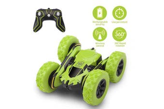 Beyondtrade Remote Control Stunt Car, 4WD RC Off Road Cars 360 Degree Double Sided Stunt Monster Truck 2.4Ghz High Speed 7.5MPH Racing Vehicle, Best Kids Gifts