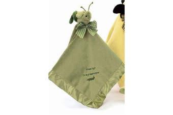 Hoppin Hugs Grasshopper Baby Blanket 41cm by Bearington