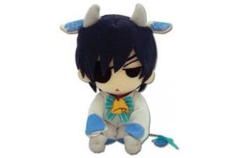 Black Butler Ciel Cow Cosplay Plush