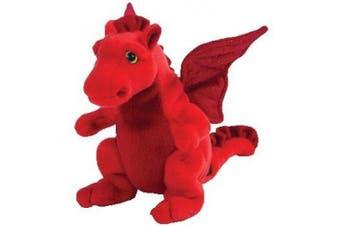 Y DDRAIG GOCH the Red Dragon (UK Exclusive) - Ty Beanie Babies