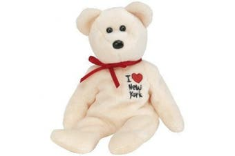TY Beanie Baby - NEW YORK the Bear (I Love New York - Show Exclusive)
