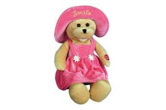 "Chantilly Lane 43cm Connie Talbot Smile Bear Sings ""Smile"""