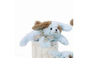 Lil Waggles Blue Dog Rattle 20cm by Bearington