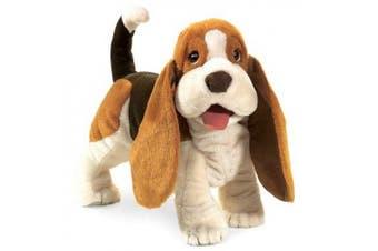 Basset Hound Hand Puppet by Folkmanis - 2919