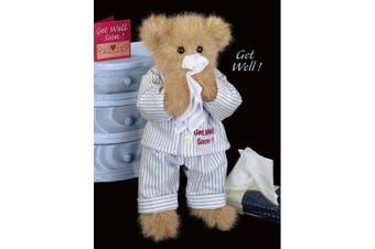 """Illie Willie """"Get Well Soon"""" Teddy Bear"""