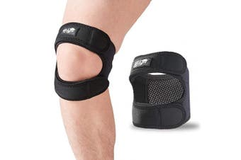 (Small/Medium) - Patellar Tendon Support Strap (Small/Medium), Knee Pain Relief Adjustable Neoprene Knee Strap for Running, Arthritis, Jumper, Tennis Injury Recovery