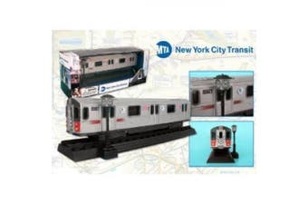 Metropolitan Transportation Authority Replica Metal Die Cast Subway Car