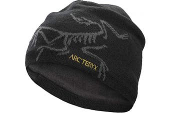 (REG, 24K Black) - Arc'teryx Men's Bird Head Toque Beanie