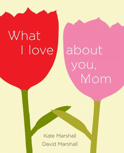 What I Love about You, Mom Your mom is one of the most important people in your life—here's your chance to tell her with the perfect gift book for any occasion. What I Love About You, Mom provides a personal and heartfelt way to tell your mother just how much you appreciate all she has done for you. With writing prompts, checklists, and space for photos or drawings, this guided journal celebrates all that is unique and wonderful about your relationship. In your own words, express your love by sharing reflections such as:  – One of my earliest memories of you is…   – I'm thankful you brought me up to try to be…   – Thank you for not…   – I'm really looking forward to having you in my life as I…  It's a gift she will cherish forever.  About the Author Kate and David Marshall have sold over 700,000 copies of their guided journals. David is the vice president and editorial director of Berrett-Koehler Publishing. They live in Moraga, California.