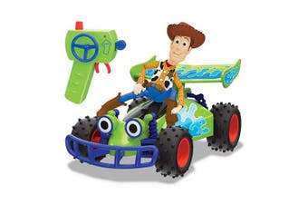 (1:24 Scale, RC Buggy with Woody) - Disney Pixar Toy Story - RC Buggy with Woody