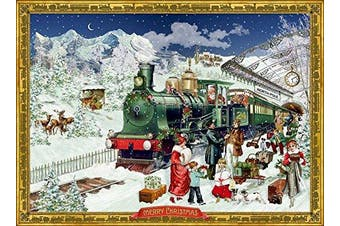 Coppenrath Advent Calendar 'The Festive Express' Traditional A4