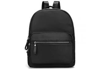 (Black) - Travistar Backpack Womens Small Rucksack Waterproof Nylon Lightweight Handbag School Shoulder Bag Daypack Ladies Fashion Backpacks (Black)