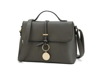 (Dark Grey) - Stylish Cross Body Purses for Women Fashion Shoulder Bag Ladies Designer Handbag