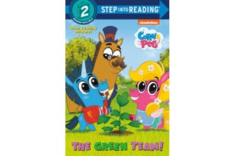 The Green Team! (Corn & Peg) (Step Into Reading)