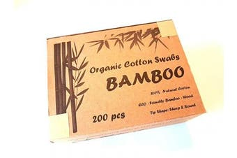 Daily Bamboo Cotton Swabs