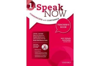 Speak Now: 1: Teacher's Book with Testing CD-ROM (Speak Now)