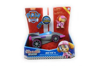 Spin Master New! Paw Patrol Ready Race Rescue - Race & Go Deluxe Skye Vehicle & Figure
