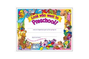 Trend Enterprises Look Who Went to Preschool Award