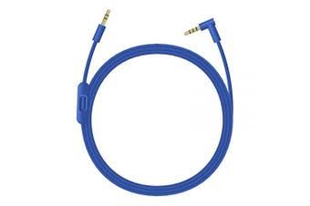 (Blue) - Beats Headphones Cord, 3.5mm Beats Replacement Cord, Replacement Audio Cable aux Cord for Beats by Dre Headphones Solo/Studio/Pro/Detox/Wireless/Mixr Headphones (Blue)