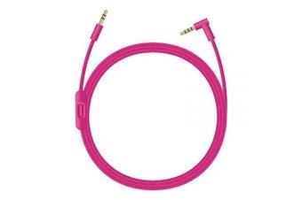 (Pink) - Beats Headphones Cord, 3.5mm Beats Replacement Cord, Replacement Audio Cable aux Cord for Beats by Dre Headphones Solo/Studio/Pro/Detox/Wireless/Mixr Headphones (Pink)