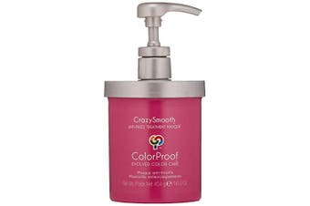 (470ml) - ColorProof CrazySmooth Anti-Frizz Treatment Masque