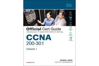 CCNA 200-301 Official Cert Guide, Volume 1/e