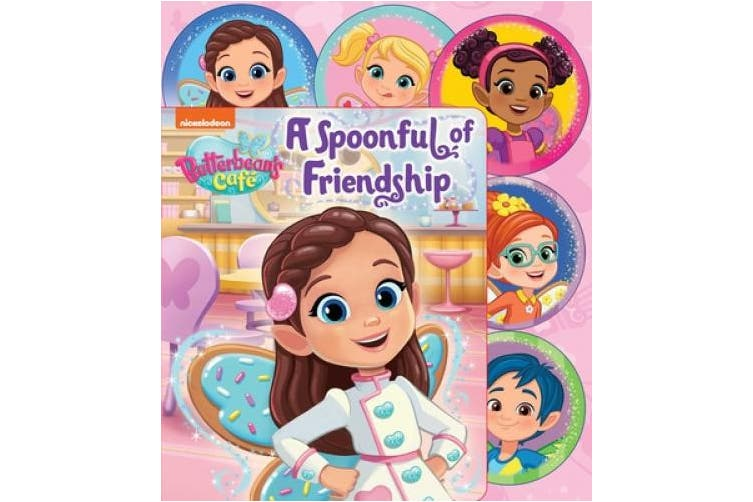 Nickelodeon Butterbean's Cafe a Spoonful of Friendship (Sliding Tab) [Board book]