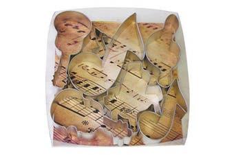R&M R M Musical 7 Piece Cookie Cutter Set