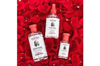 (Rose Petal) - Thayers Alcohol-Free Rose Petal Witch Hazel Toner with Aloe Vera Formula-350ml (Facial Toner)