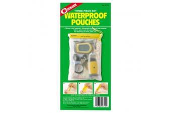 Coghlan.s 9710 Waterproof Pouch Set, 3 Pieces
