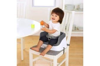 Ingenuity SmartClean Toddler Booster Seat - Slate