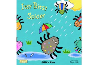 Itsy Bitsy Spider (Classic Books with Holes Cover) [Board book]