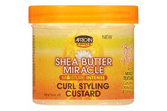 African Pride Shea Butter Miracle Curl Styling Custard 340 G350ml