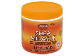 African Pride Shea Butter Miracle Silky Edge Conditioning Gel, 180ml