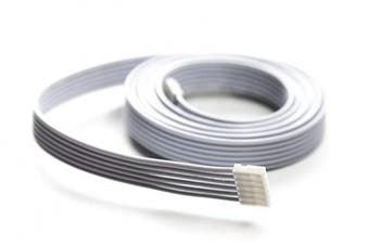 (White, 3 Foot (1m) - 1 Pack) - Extension Cable for Philips Hue Lightstrip Plus (3 ft/1 m, 1 Pack, White)