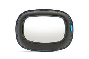 BRICA Baby In-Sight Soft-Touch(TM) Auto Mirror for in Car Safety - Gray