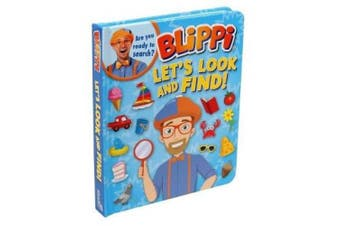 Blippi: Let's Look and Find [Board book]