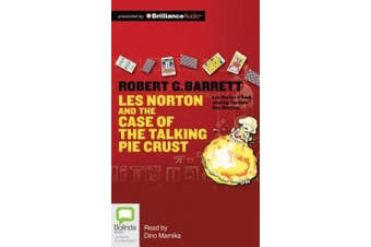 Les Norton and the Case of the Talking Pie Crust (Playaway Adult Fiction) [Audio]
